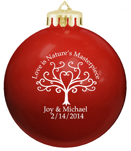 personalized ornament balls