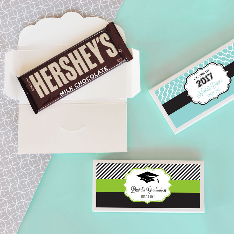 Personalized Graduation Candy Bar Wrappers - No Chocolate Bar - hershey wrappers