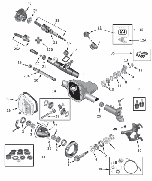 jeep wrangler jk front suspension diagram