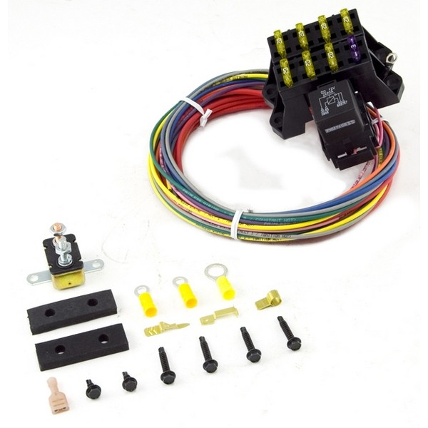 Painless Wiring 7 Circuit Fuse Block with Hardware, Universal Jeep