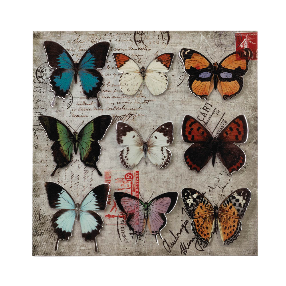 Butterfly Collage 3