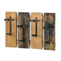 Rustic Wall Mounted Wine Rack Wholesale at Koehler Home Decor