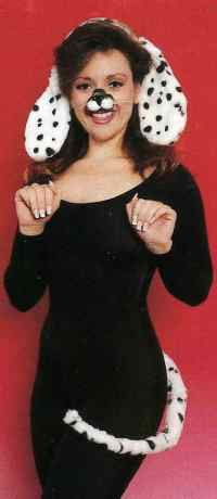Dalmation Dog Costume Kit - Candy Apple Costumes - Funny ...
