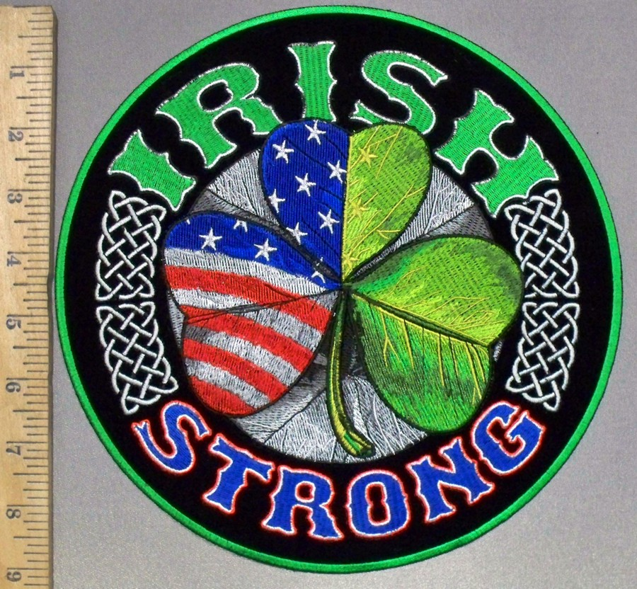 3804 G - DISCONTINUED Irish Strong - Half American Flag Half Irish