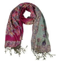 Wholesale double layer pashmina scarf