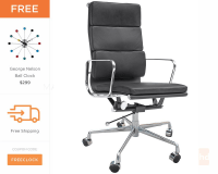Eames Soft Pad Executive Chair - Eames Office Chair