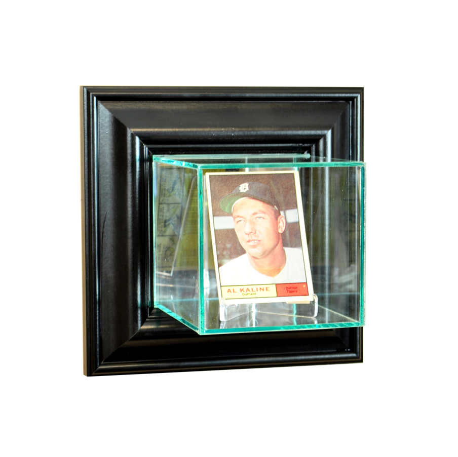 Wall Mounted Display Case Wall Mounted Card Display Case Black
