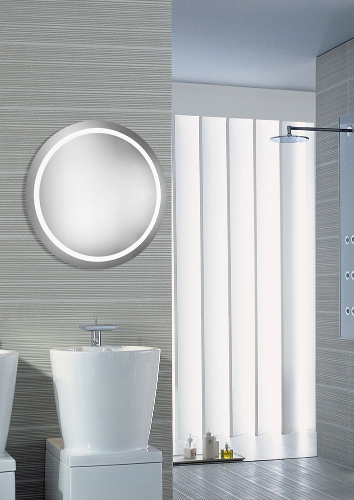 Hudson Lighting Wall Sconces Elegant Lighting Mre-6005 Element Modern Glossy White Led