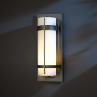 Hubbardton Forge 305895 Banded LED Exterior Wall Lighting ...