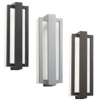 "Kichler 49434 Sedo Contemporary 6"" Wide LED Outdoor Wall ..."