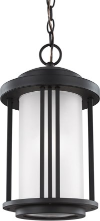 Seagull 6247901EN-12 Crowell Contemporary Black LED ...