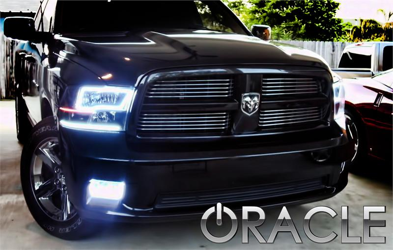 2009 2012 Dodge Ram Smd Halos Kit By Oracle