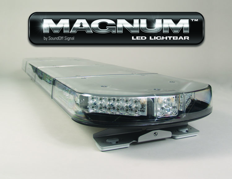 SoundOff Magnum LED Lightbar - 48 Inches of Led Warning Power!