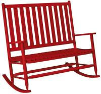 Double Rocking Chairs, Wooden,Custom,Double Porch Rockers ...