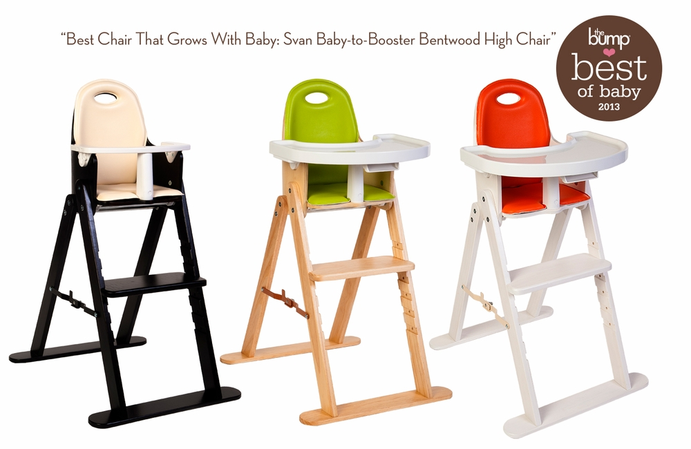 Baby To Booster Bentwood High Chair By Svan