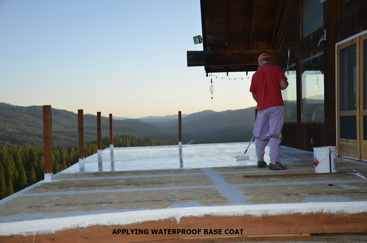 Diy Deck Waterproofing Armortop Roof Coating And Deck Textured Coating Armorgarage