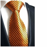 Orange Ties, Silk Ties, Wedding Ties, Neck Ties, Mens Ties