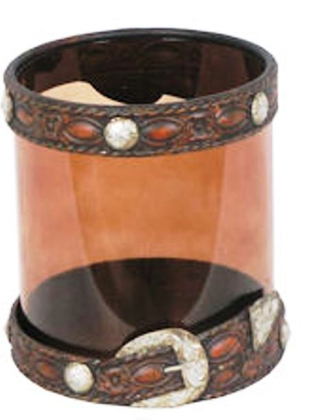 Rwma7052 Western Belt Candle Holder