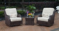 Mila Collection 2-Person All Weather Wicker Patio ...