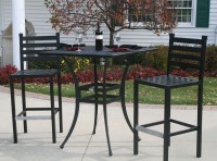Ansley Luxury 2-Person All Welded Cast Aluminum Patio ...