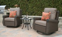 Giovanna Luxury All Weather Wicker/Cast Aluminum Patio ...