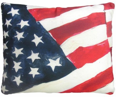 America Flag Outdoor Pillow Only 4495 At Garden Fun