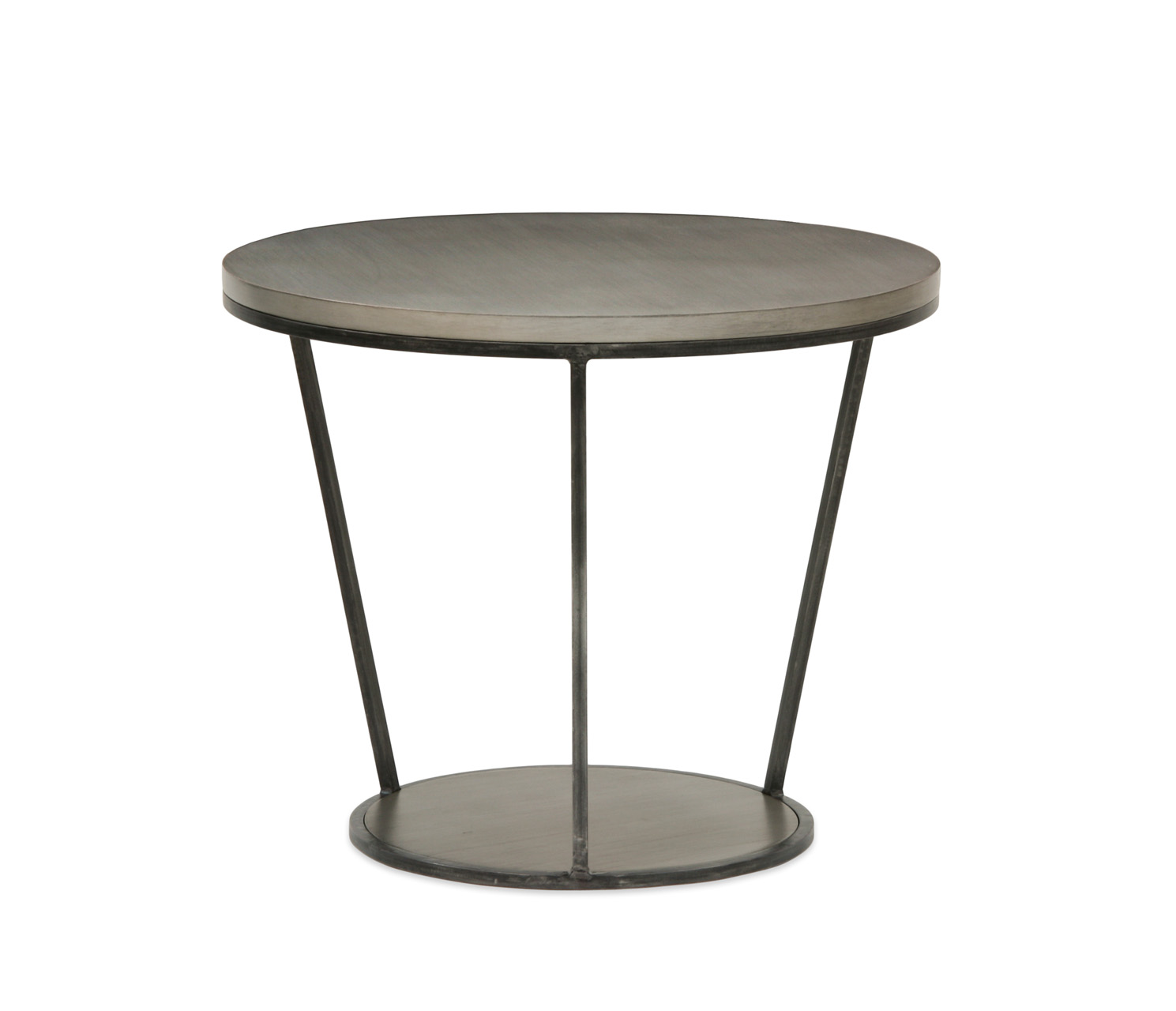 Round Glass Bedside Table Blair Round Side Table