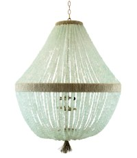Orbit Beaded Chandelier for Sale