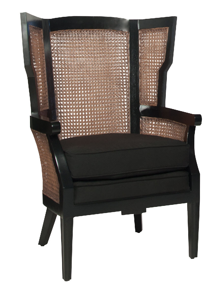 Rattan Sofa Rattan Sofa Chair With Black Color On Frame