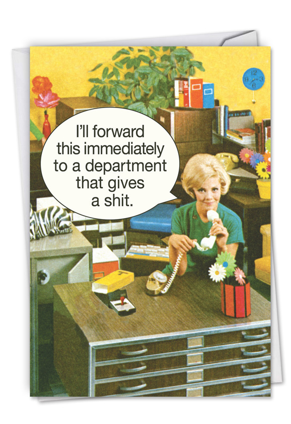 Department Gives a Shit Administrative Professionals Day Card