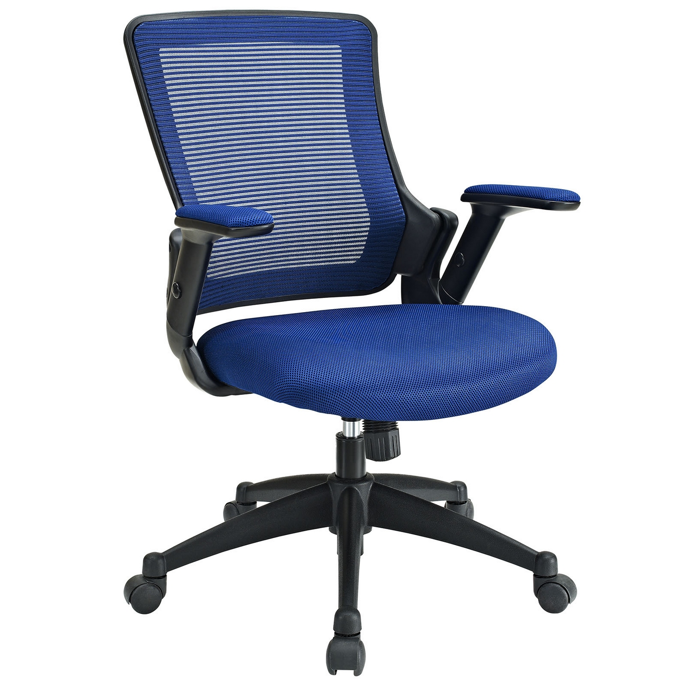 Blue Office Chair Aspire Contemporary Ergonomic Mesh Multi Function Office