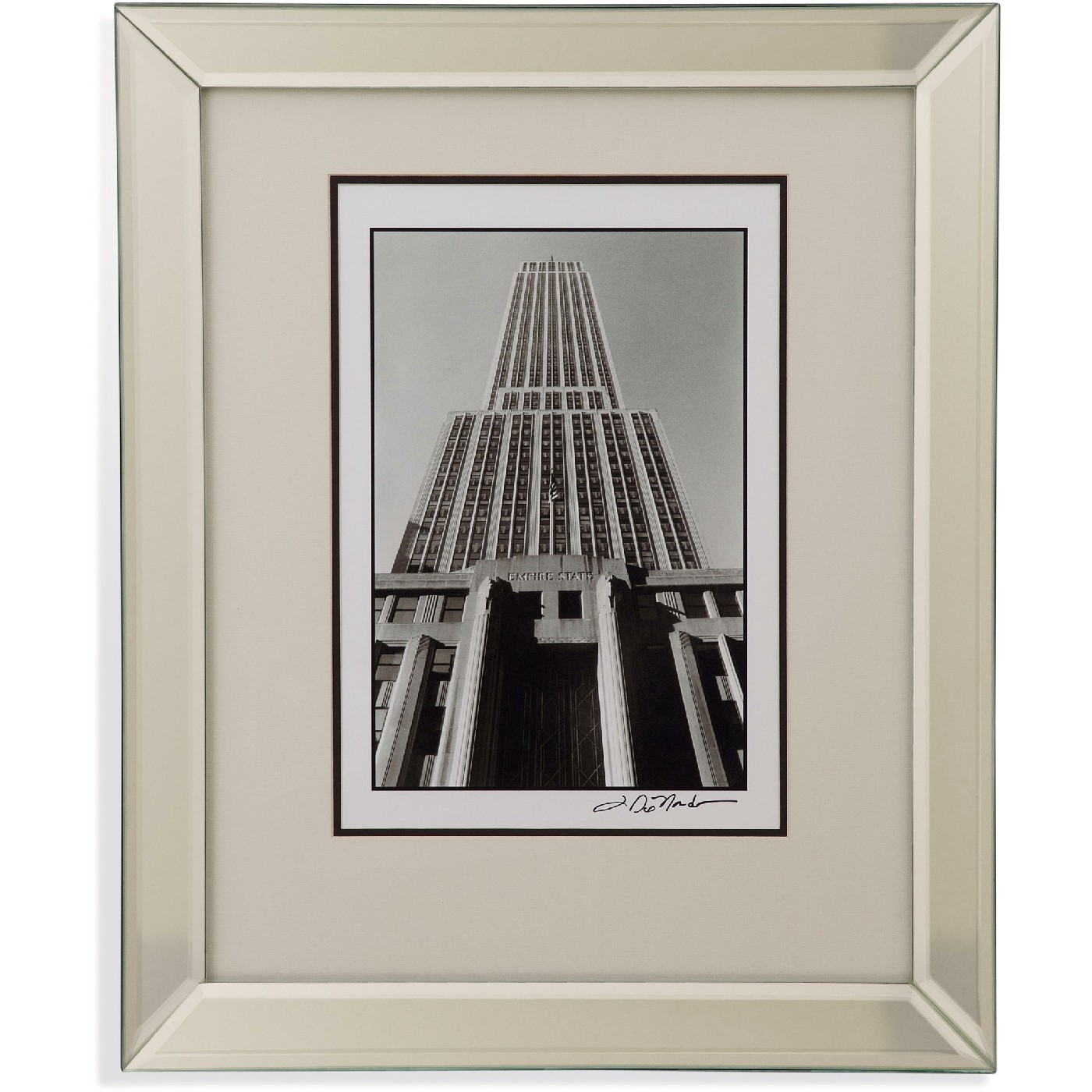 Architectural Prints Framed Empire State Building I Architectural Framed Art 9900 154aec