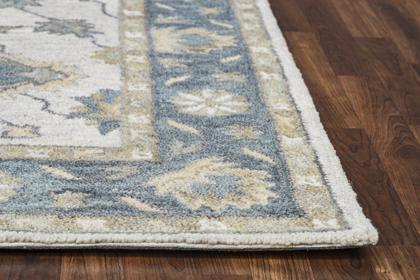 10 X 14 Area Rugs Leone Traditional Motifs Vines Wool Area Rug In Natural