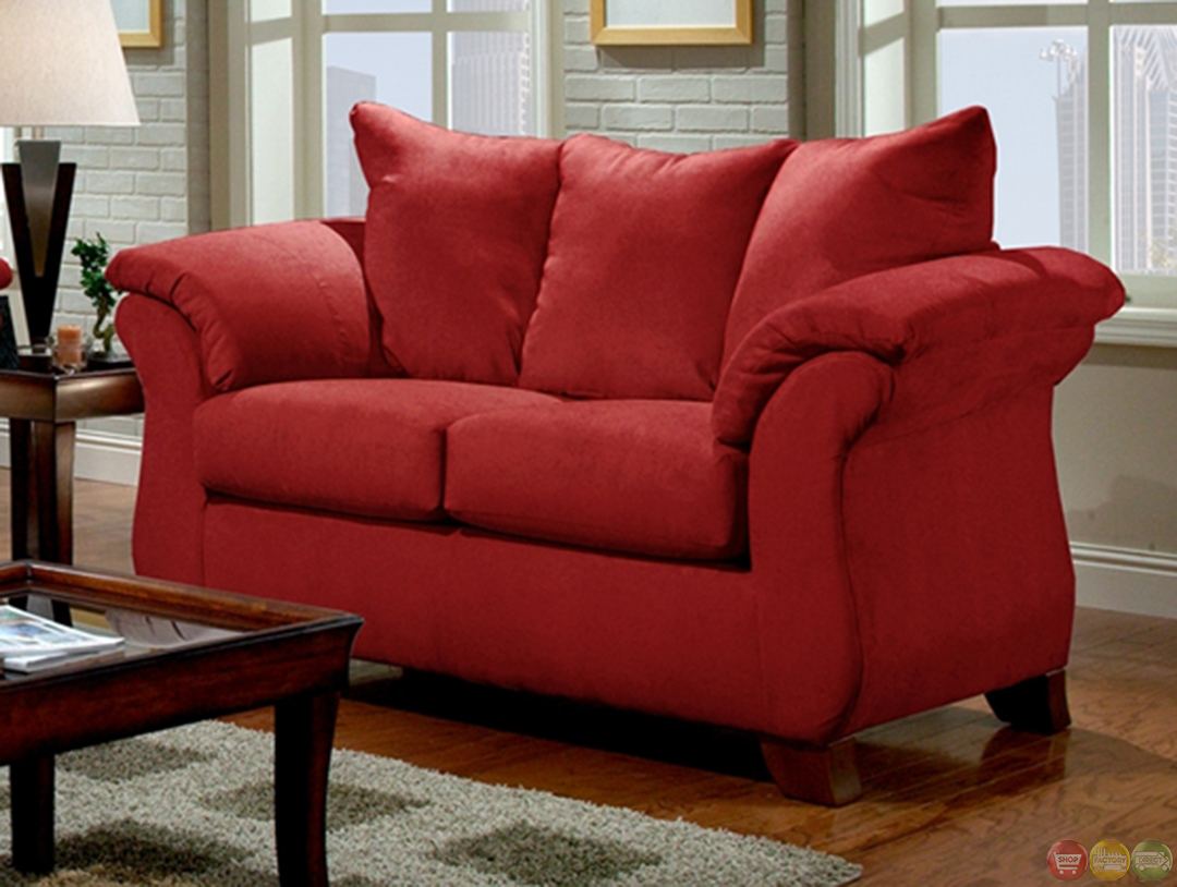Sofa Set For Drawing Room With Price Modern Red Sofa And Loveseat Living Room Furniture Set