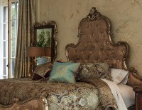 Platine De Royale French Provincial 4-pc King Bedroom Set ...