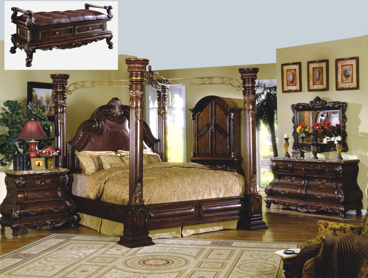 Marble Bedroom Traditional Canopy Bed Marble Bedroom Set Shop Factory