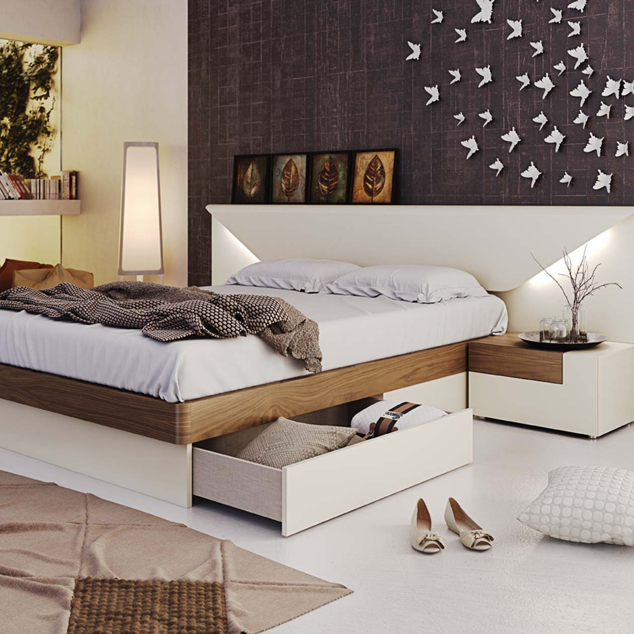 Hydraulic Bed Storage Beds With Drawers Or Hydraulic Lift Storage