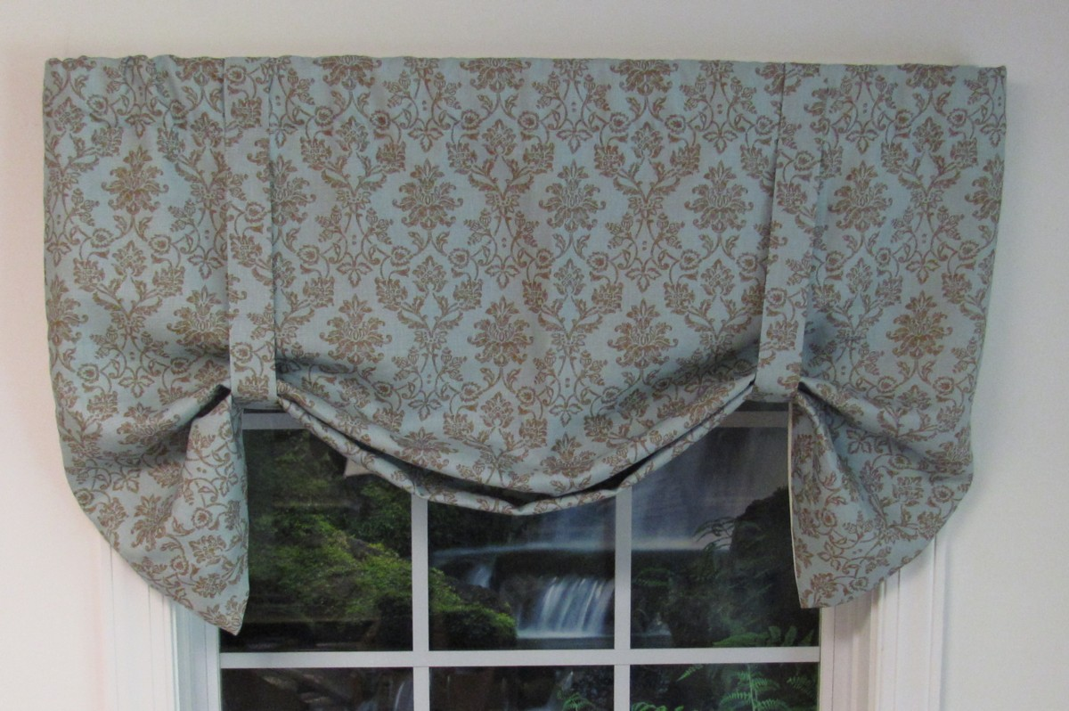 Farley Window Farley Tie Up Valance Thecurtainshop