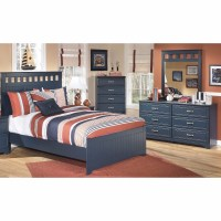 Signature Design by Ashley - Leo 4 Piece Twin Bedroom Set C