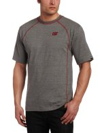 Caterpillar Mens Performance Short Sleeve Tee Grey
