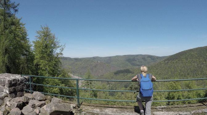 Drei-Burgen-Weg um Ramberg in der Pfalz