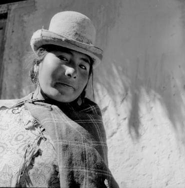 Mujer Aymara / Alta meseta del lago Titicaca