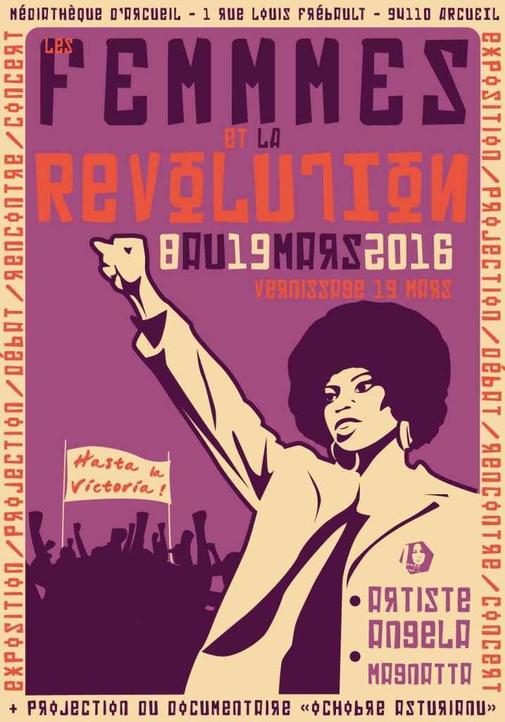 FEMMES & REVOLUTION // REVOLUTION ASTURIENNE