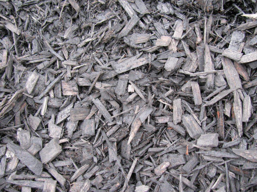 Black Bark Mulch Bark Mulches