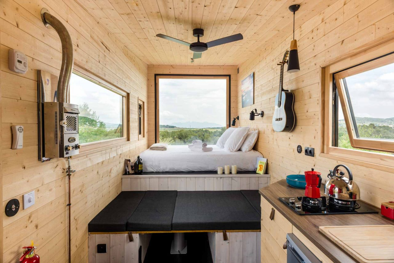 Tiny House Interieur Serena House Escape In Our Ecological Tiny Houses