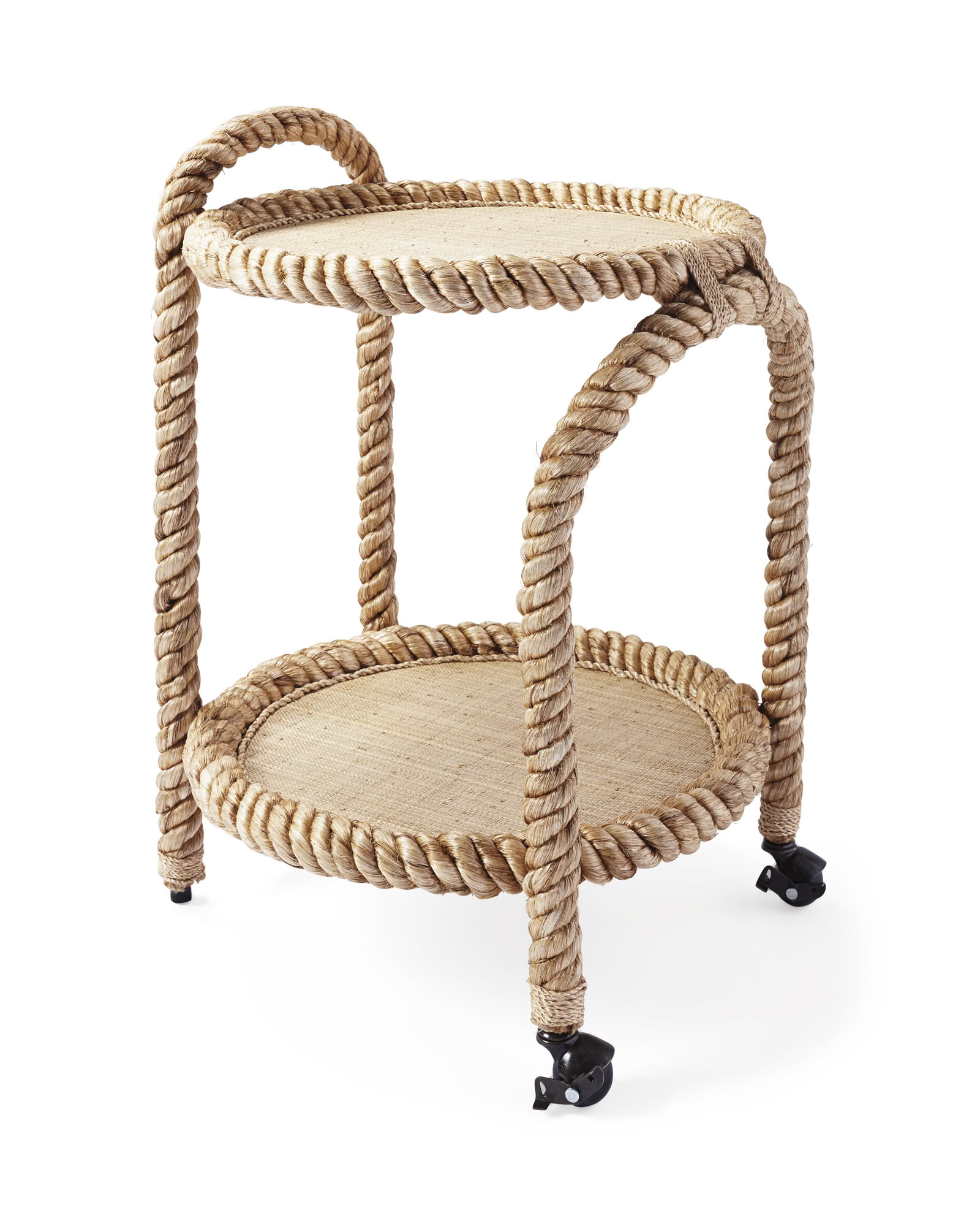 Cordage Marin Décoration Marin Rope Bar Cart Serena And Lily