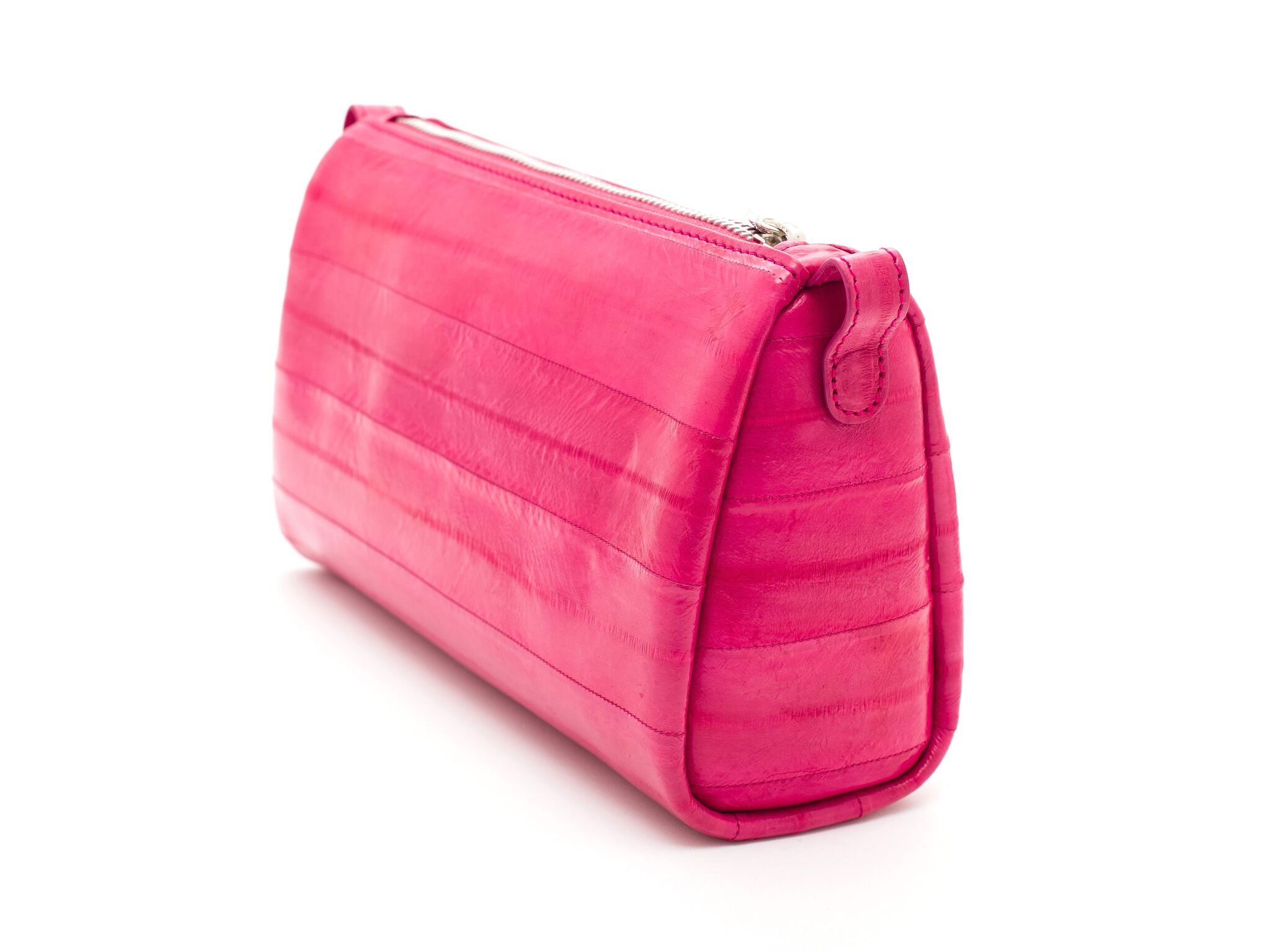 Jade Farbe Luxury Leather Travel Bag Jade Farbe Tropic Fuchsia