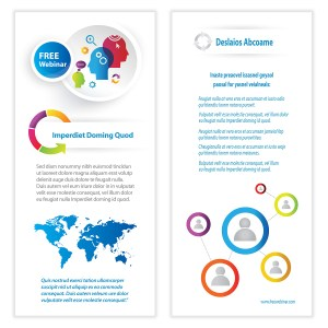 Business Infographics Flyer Template