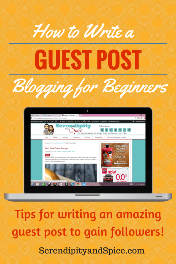 How to write a guest post