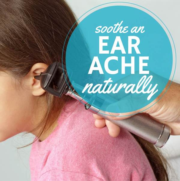 How to soothe an ear ache naturally